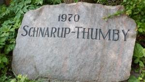 Gedenkstein zur Gemeindefusion