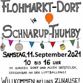 Flohmarkt Dorf  am 11.September 2021